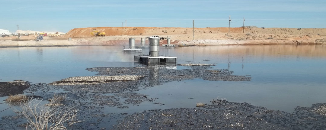Evaporation pond solutions